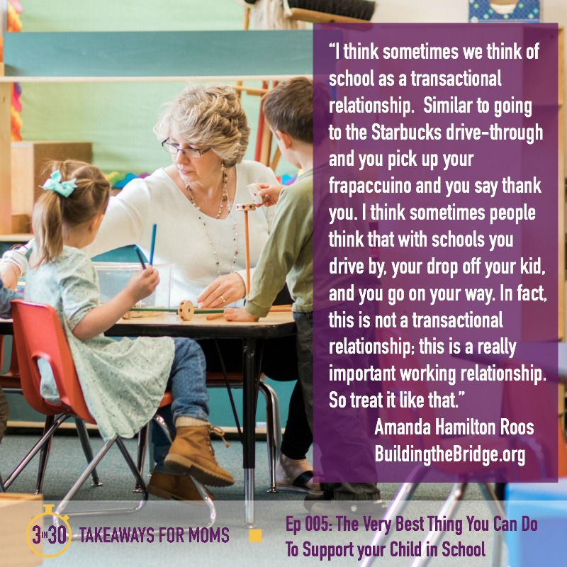 Amanda Hamilton Roos Quote II 3 in 30 Takeaways for Moms