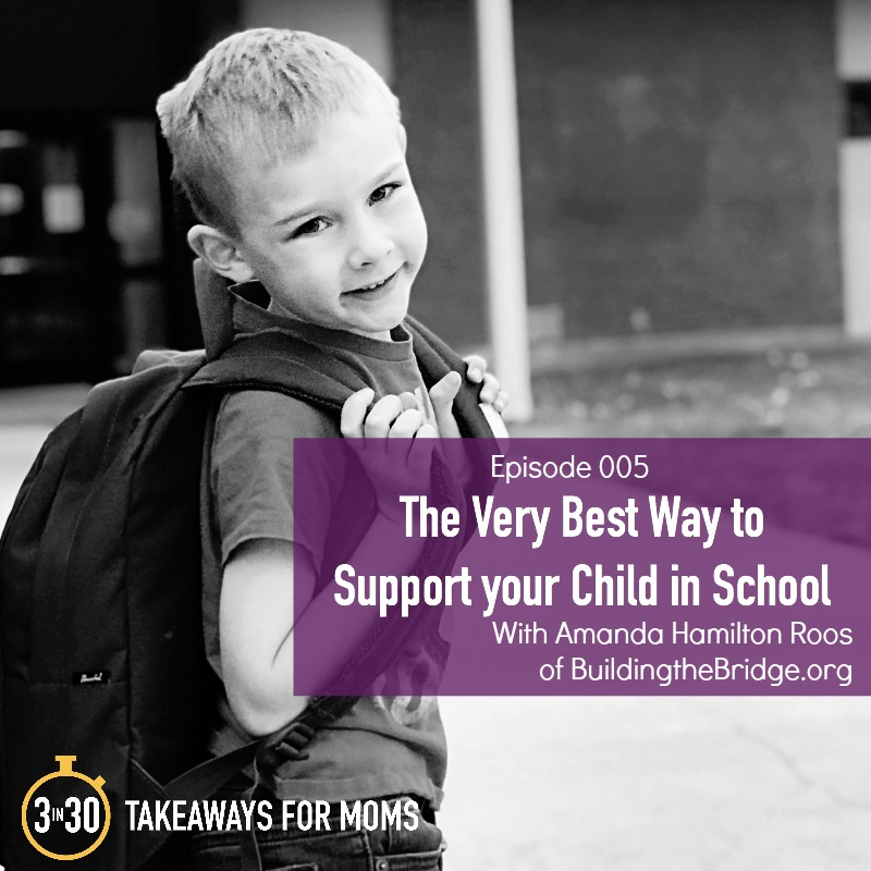 The Very Best Way to Support Your Child in School