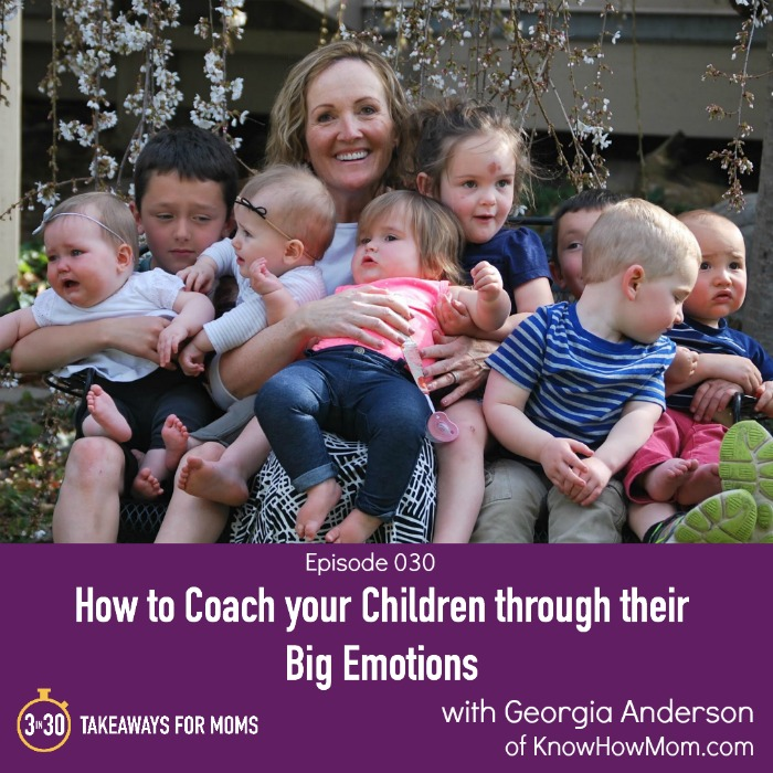3 Steps for coaching your children through their big emotions
