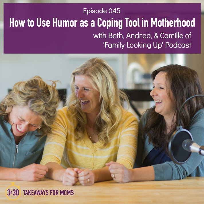 How to Use Humor as a Coping Tool in Motherhood Family Looking Up