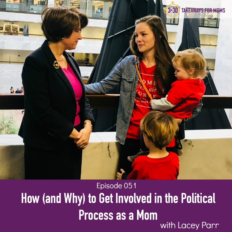 Podcast about 3 simple ways to get involved in the political process