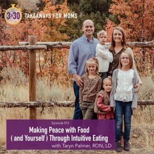 Making Peace with Food Through Intuitive Eating