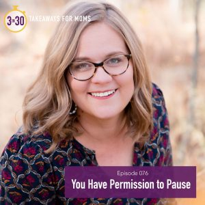You Have Permission to Pause