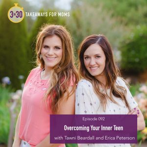 3 in 30 Podcast for Moms with Rachel Nielson / Create More Meaning