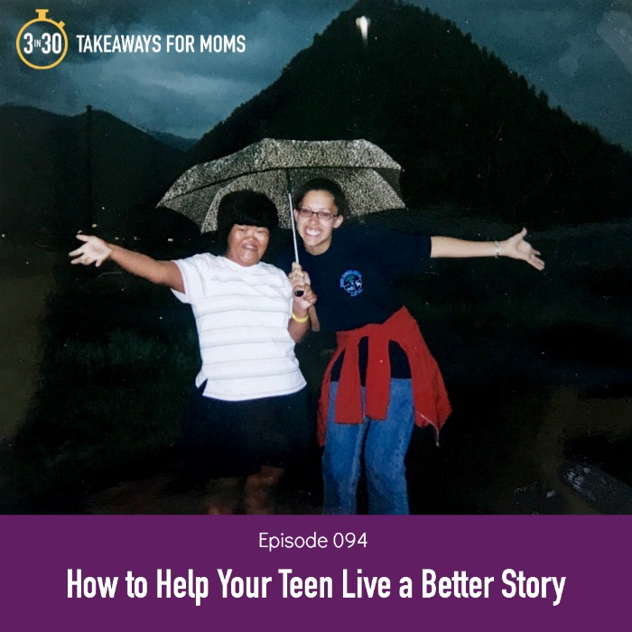 3 takeaways for how to invite your teenager into a better story, particularly if they are rebelling or struggling to know who they are