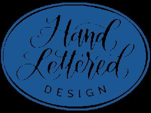 Hand Lettered Design Logo 1
